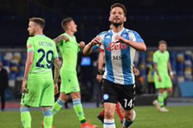Hujan Gol Saat Napoli Lumat Lazio