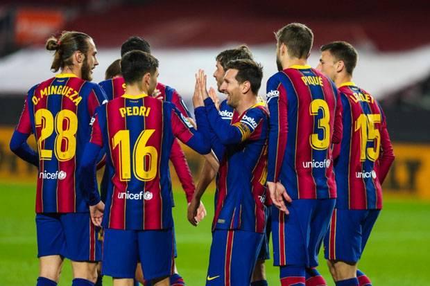 Babak I Barcelona vs Getafe: Messi Cetak Brace