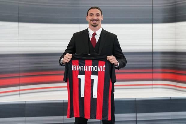 Ibrahimovic Perbarui Kontrak Satu Tahun di Milan
