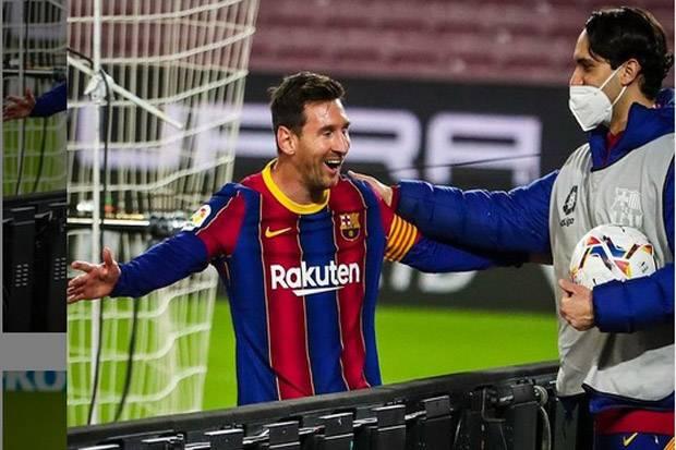 Lionel Messi Masuk Buku Rekor dan Gabung Bersama Cristiano Ronaldo