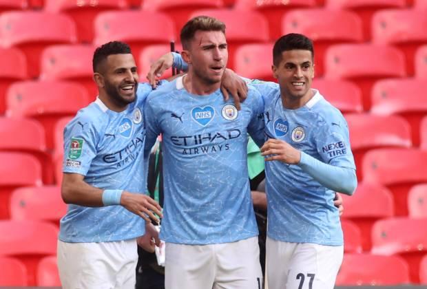 Mahrez Tegaskan Man City Layak Jadi Juara Piala Liga Inggris