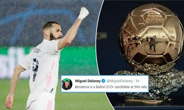 Bikin Gol Keren ke Gawang Chelsea, Benzema Difavoritkan Raih Balon dOr