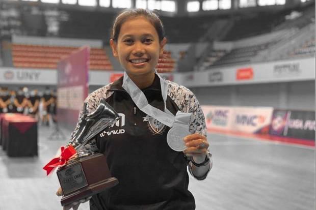 Fitri Rosdiana, Atlet Nasional Futsal Menjaga Prestasi dengan Motivasi Kuat dan Passion Tinggi