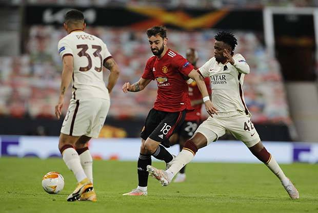 Liga Europa: Bruno Fernandes Beber Cara Manchester United Gasak AS Roma