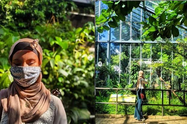 Stephanie Kurlow, Atlet Hijab Berkunjung ke Negeri Dongeng Kupu-Kupu