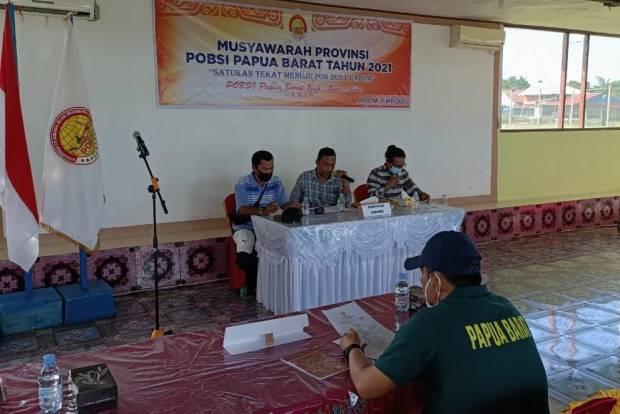 POBSI Papua Barat Gelar Musyawarah Provinsi, Sekjen Harap Prestasi Lebih Baik