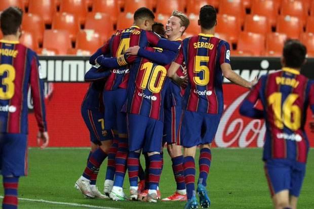 Hadapi Atletico, Pertaruhan Barcelona dalam Perburuan Gelar Juara La Liga