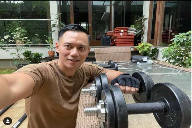 AHY Ajak Ngabuburit Sambil Nge-Gym, Warganet: Capres Gue 2024