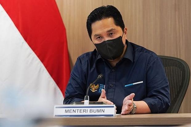 Jelang Holding BUMN Perikanan, Erick Thohir Copot Dirut Perinus
