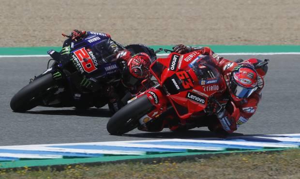 Ambil Alih Klasemen MotoGP 2021, Bagnaia Mengaku Beruntung