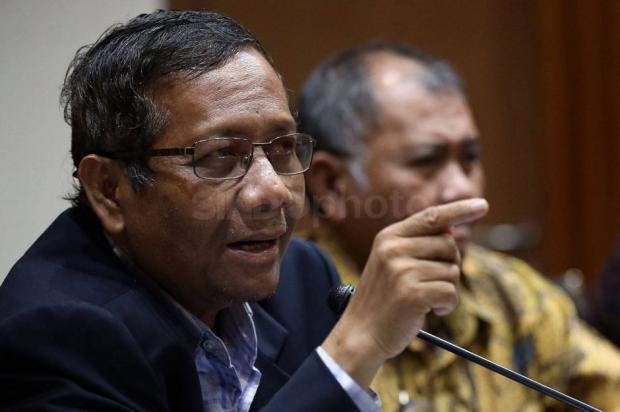 Mahfud MD ke AS Hikam Soal Korupsi: Pa Hikam Percaya Saya Bilang Begitu?
