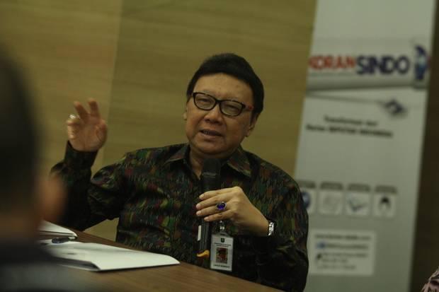 Tjahjo Ungkap KemenPAN-RB Tak Terlibat Proses Seleksi Pegawai KPK