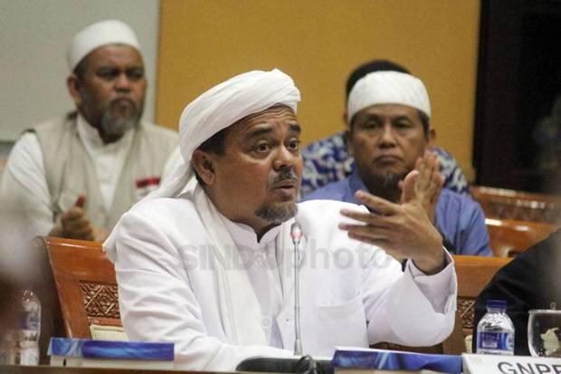 Cerita Habib Rizieq soal Pembubaran FPI