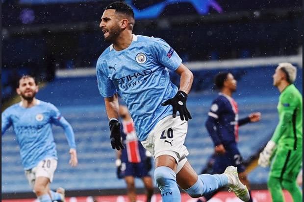 Manchester City Lolos ke Final Liga Champions, Mahrez: Alhamdulillah