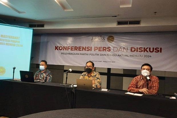 Survei LP3ES: Elektabilitas Partai Demokrat Melejit Imbas Safari Nusantara AHY