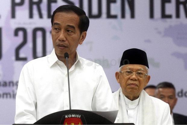 Survei LP3ES Sebut 63% Masyarakat Puas Kinerja Jokowi-Maruf