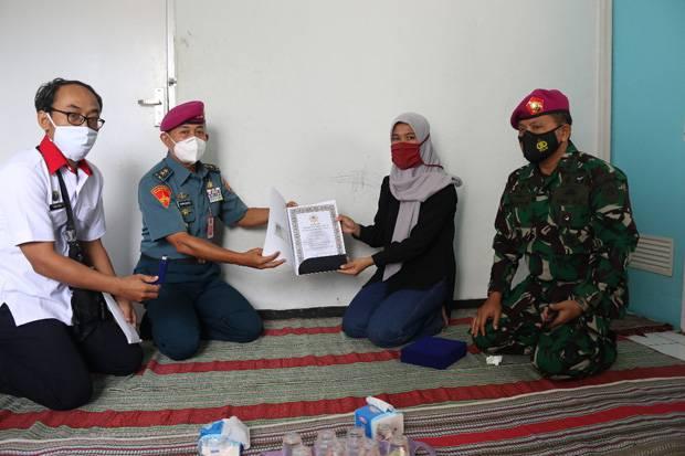 BSSN Beri Anugerah Adhibakti Sanapati kepada Korban KRI Nanggala-402