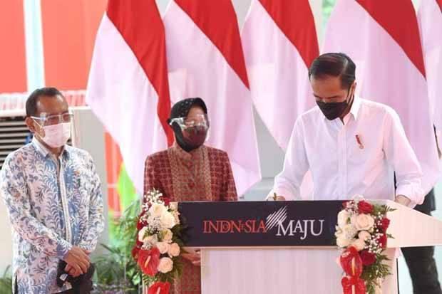 Olah Sampah Jadi Listrik, Jokowi: Surabaya Wujudkan Impian Saya