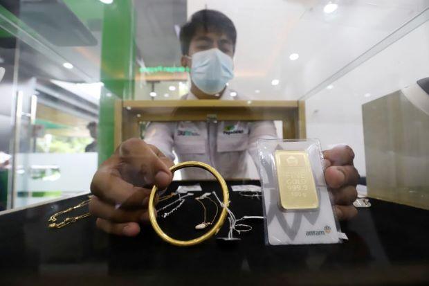 Harga Emas Batangan Naik Rp4.000 per Gram, Cek Rinciannya