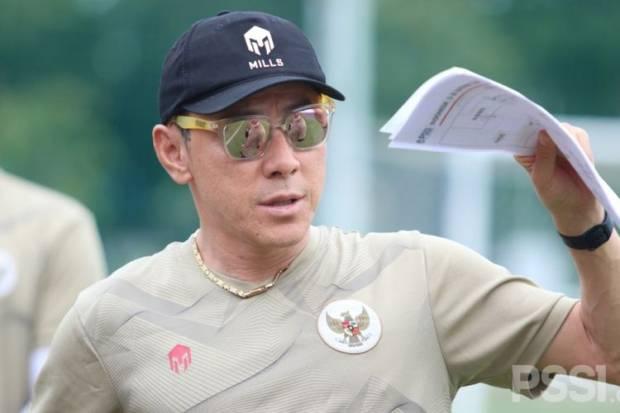 Shin Tae-yong Mulai Pimpin Langsung Latihan Timnas Indonesia