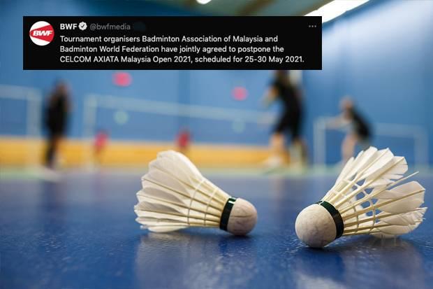 Kasus Covid-19 Melonjak, Malaysia Open 2021 Resmi Ditunda