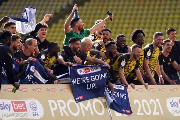 Promosi ke Liga Primer Inggris, Watford Cetak Rekor Mengilau