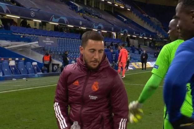 Soal Hazard Tertawa Usai Madrid Disingkirkan Chelsea, Zidane: Sudah Lewat