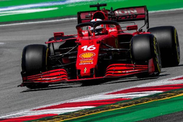 Ambisi Duo Ferrari di F1 GP Spanyol 2021: Leclerc Nafsu Asapi McLaren