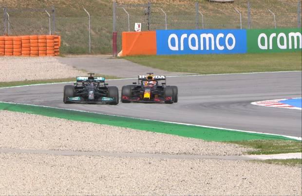 Lewis Hamilton Asapi Verstappen Jelang Akhir GP Spanyol
