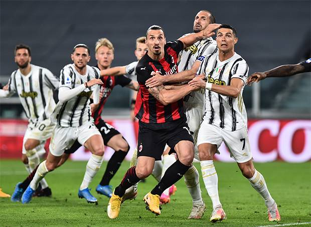 Juventus Terlempar dari Empat Besar Usai Dibantai AC Milan