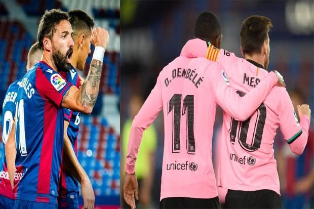 Lewat Drama Enam Gol, Barcelona Batal Jadi Penguasa Klasemen Liga Spanyol