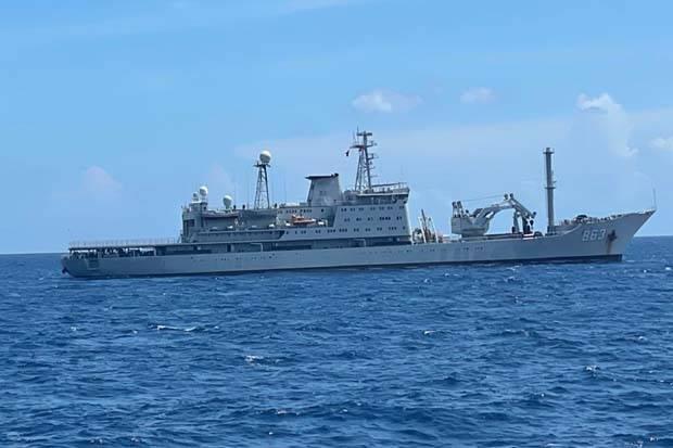 Kapal Perang China Merapat ke Perairan Indonesia, Pemerintah Diminta Waspada