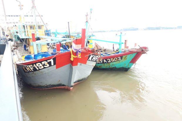Nasib 2 Kapal Maling Ikan Malaysia yang Ditangkap Polri Kini di Tangan KKP