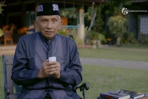 Amien Rais Bermuram di Idul Fitri karena Al Aqsa Diserang Israel