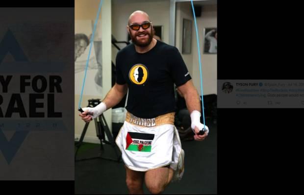 Tyson Fury Kecam Hacker gara-gara Pray For Israel: Kau Pelacur Kecil!