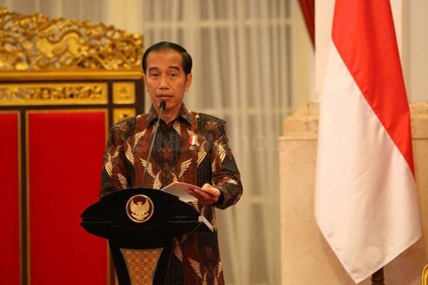 Jokowi Merespons Kritik soal Palestina lewat Cuitan Berbahasa Inggris