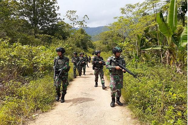2 Anggota KKB Tewas Setelah Kontak Tembak dengan TNI-Polri