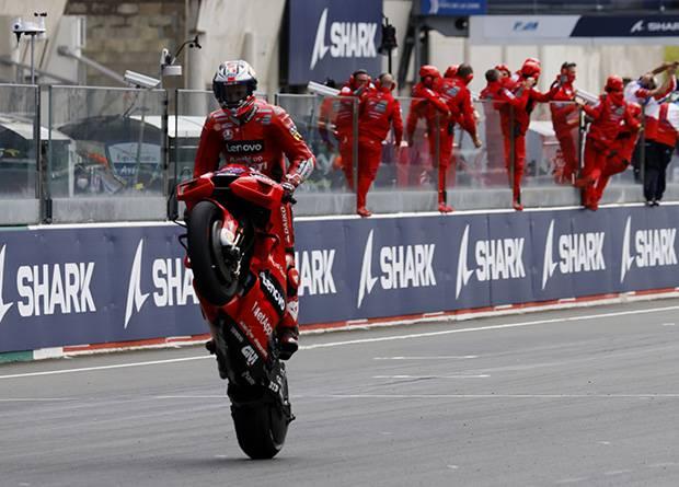 Jack Miller Juara MotoGP Prancis 2021, Rossi-Marquez Melempem