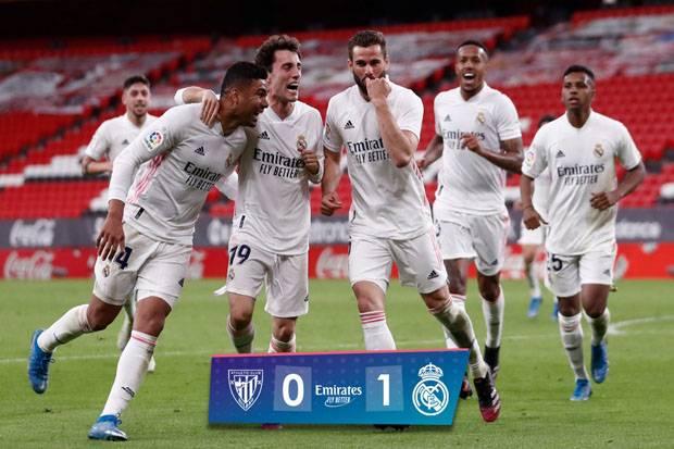 Permalukan Bilbao, Madrid Paksa Penentuan Juara Liga Spanyol hingga Pekan Terakhir