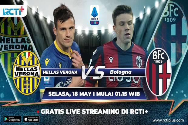 Preview Hellas Verona vs Bologna (Link Live Streaming RCTI+)