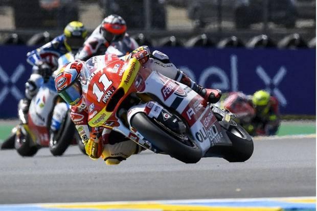 Raih Poin di Prancis, Pembalap Federal Oil Gresini Moto2 Bikin Bangga Indonesia