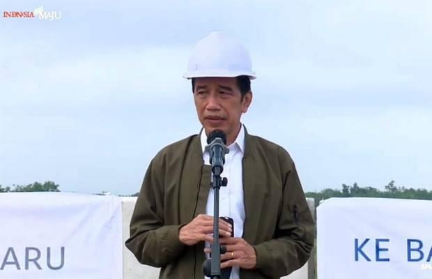 Minta Progres Tol Trans Sumatera Makin Cepat, Cara Jokowi Kerek Daya Saing Produk Lokal