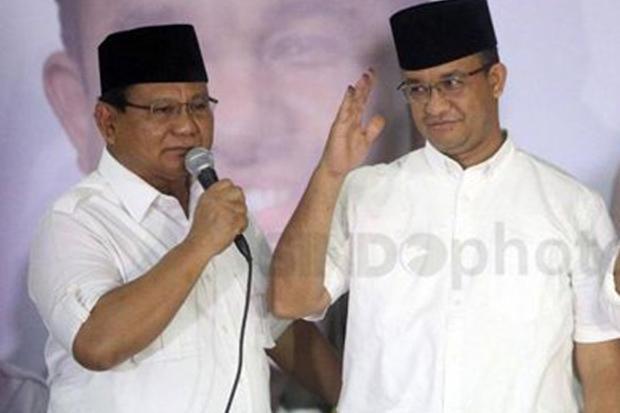 Elektabilitas Prabowo dan Anies Tertinggi Tapi Paling Tak Diharapkan Jadi Presiden 2024