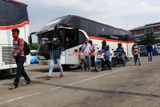Larangan Mudik Usai, Arus Balik Penumpang Bus AKAP ke Jabodetabek Masih Landai