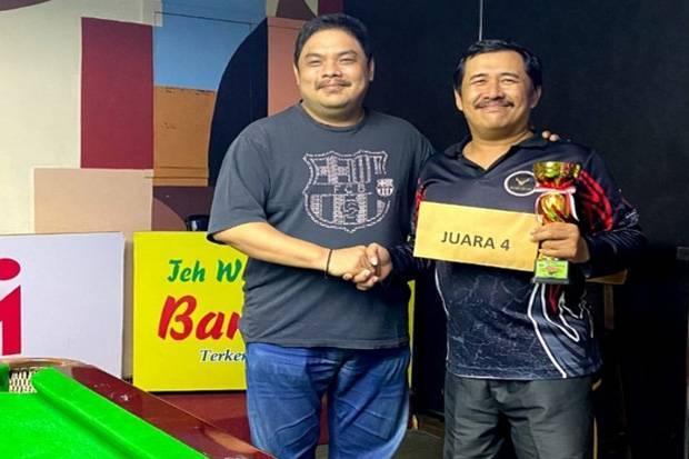 Kalahkan Yudharman di Final, Irwanto Jadi Juara Turnamen Snooker Six Red Handicap