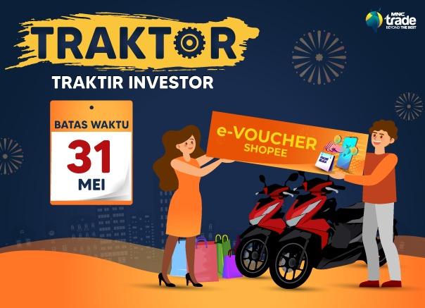 Investasi Saham bersama MNC Sekuritas, Raup Cuan Berlipat & Ikuti Promo Traktor