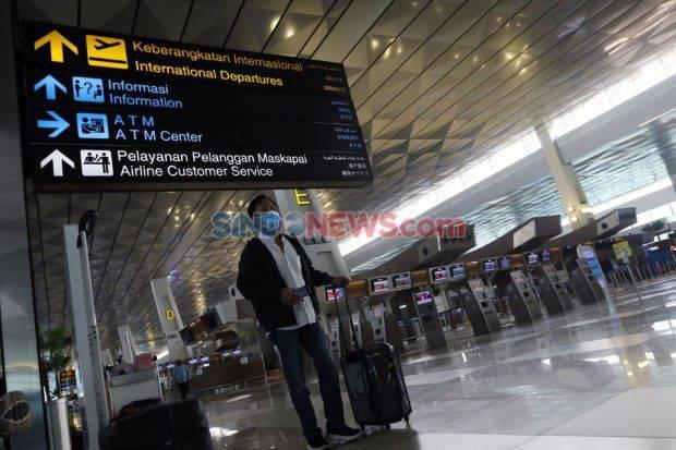 Penumpang Bandara Juanda Naik 16% Selama Pengetatan Mudik