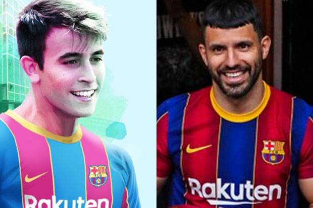 Aguero dan Eric Garcia Resmi Bergabung, Begini Formasi Barcelona Musim 2021/2021