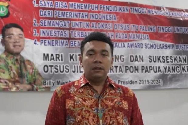 Stafsus Jokowi Ajak Masyarakat Papua Dukung Otsus dan Sukseskan PON