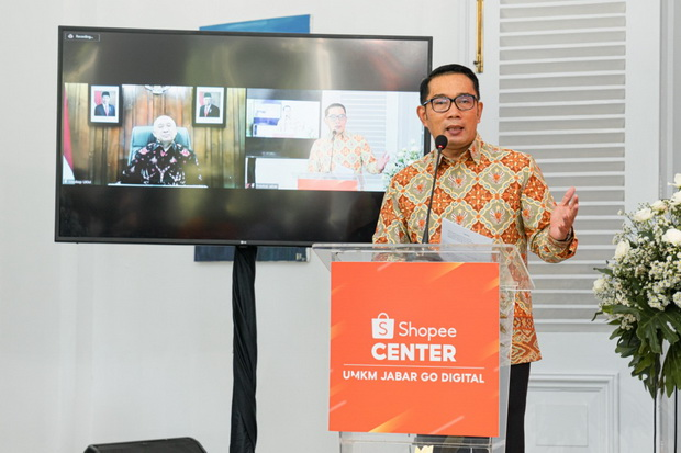 Ridwan Kamil: Shopee Tak Lagi Impor-impor, Sekarang Buka Peluang UMKM Ekspor
